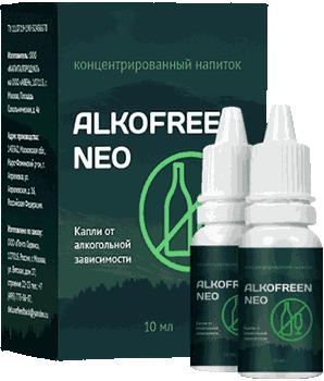 Капли Alkofreen Neo.
