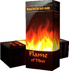 Препарат Огонь Тибета мини версия.